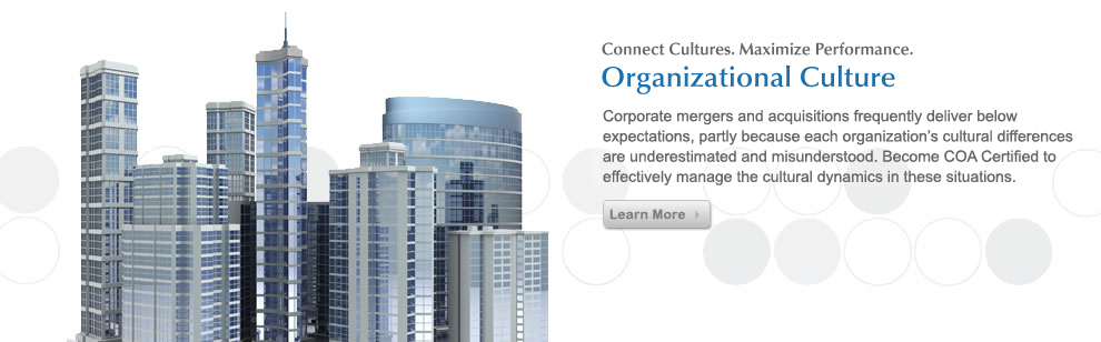 TMC COA Organizational Level of Culture